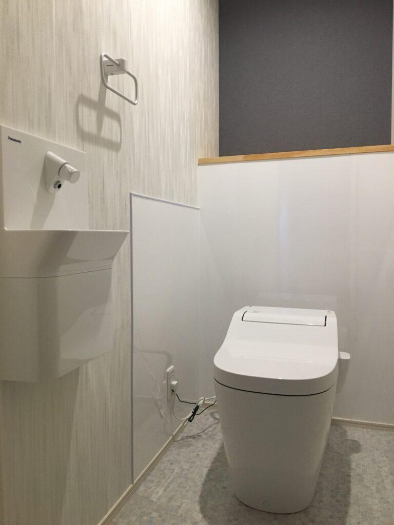 新設トイレ&手洗いカウンタ
