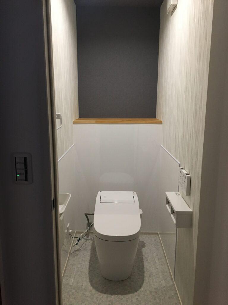 新設トイレ